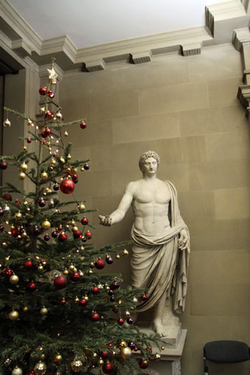 Chatsworth House festive displays